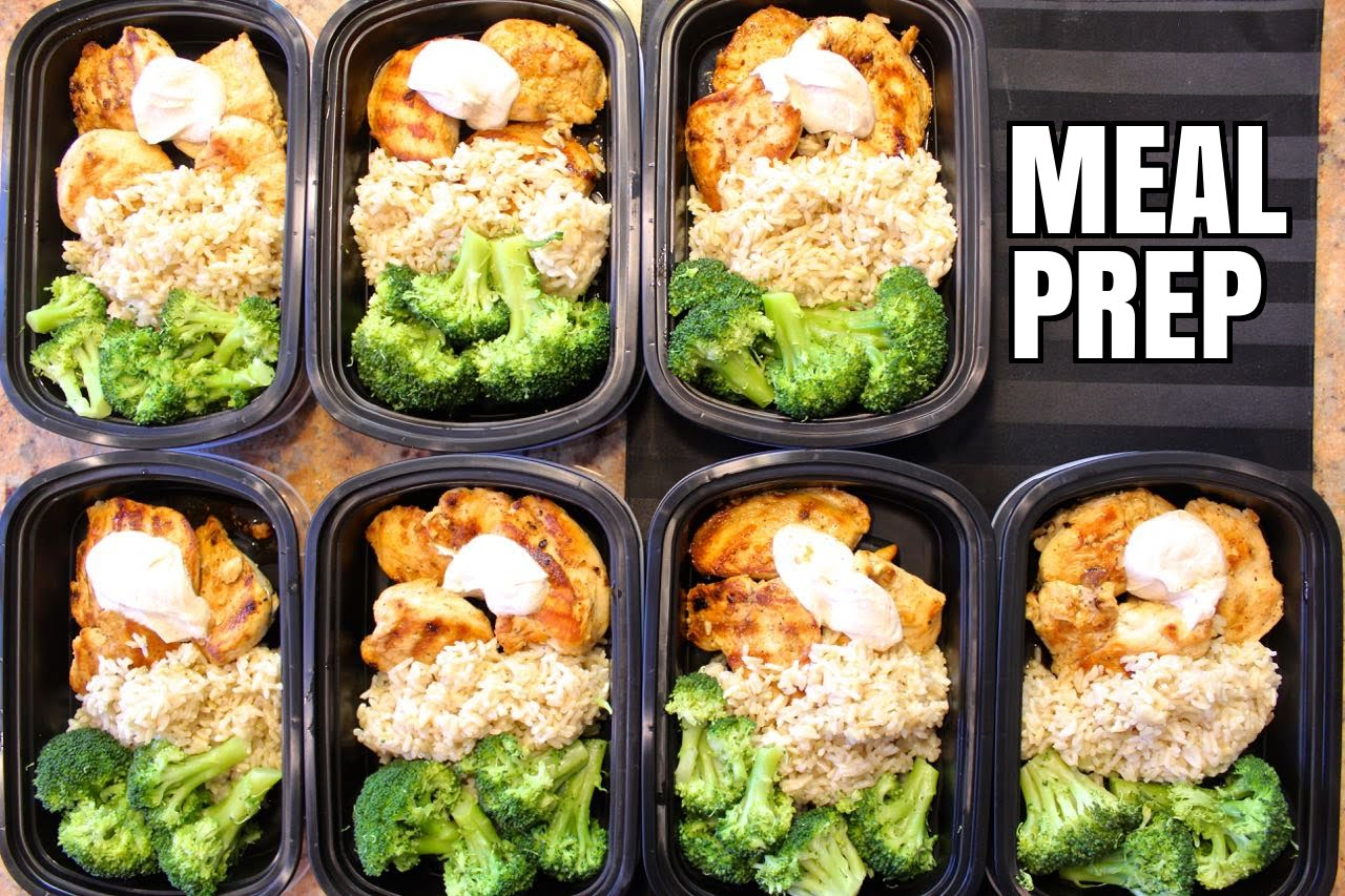Preparing some or all of your meals ahead, encourages portion control and healthy eating. featured image